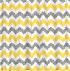 three combo color of chevron curtains