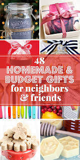 budget gift ideas and simple homemade gifts perfect for giving gifts to friends