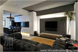 Small Picture Modern Tv Wall Design Home Design Ideas Living Room Decoration