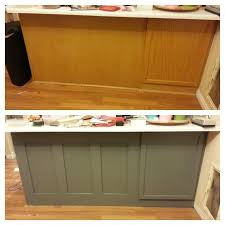 diy kitchen cabinet paintingRemodelaholic  DIY Refinished and Painted Cabinet Reviews