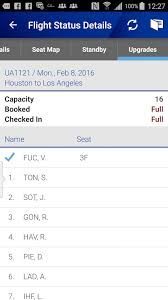 Zed Fare Chart 2017 United Standby List Flight Loads How To Check Airport