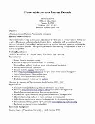 Chartered Accountant Resume Sample Lovely Forensic Accountant Resume Sample For Your Best Format Inside 2