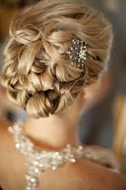 Coiffure De Mariage Et Bijoux De Cheveux Id Es Tendance Chignon