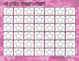 Free Star Chart Camo Rewards Charts 42 Stars Printable Reward Charts