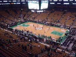 boston td garden. Boston Celtics Seat View For TD Garden Section 328, Td