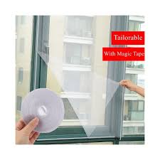 2pcs set diy door window gauze mesh netting insect fly bug screen curtain mosquitoes net