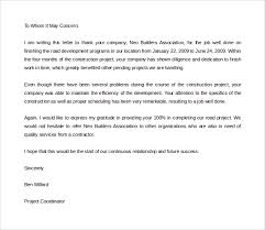 Thank You Letter For Job Reference Thank You To Letter Of Recommendation Under Fontanacountryinn Com