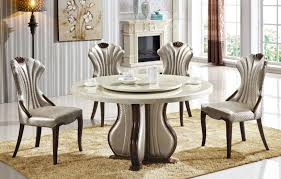 nothing can compete in aesthetics with a white marble dining table that is not only voguish in appearance but also every bit alluring