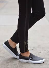 vans perf leather sneaker