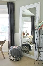 tall standing mirrors. Simple Tall Big Floor Standing Mirrors White Leaning Mirror Tall  Intended Tall Standing Mirrors
