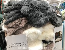 outfit your home s floors with the windward sheepskin quad rug