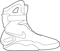 Nike Air Jordan Coloring Pages Jafevopusitop