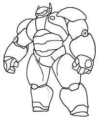 Big Hero 6 Coloring Pages At Getdrawingscom Free For Personal Use