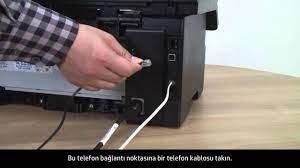 HP LaserJet Yazıcıda Donanımı Faks Alıp Gönderecek Şekilde Ayarlama -  YouTube
