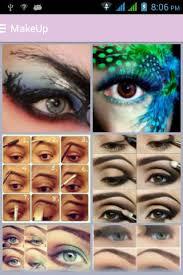 ezee eye makeup step by step screenshot 1
