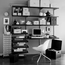 lovely home office setup. Home Office Interior Design Ideas 5 Lovely The Chic Decor In Black And White Setup I