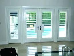 sliding plantation shutters sliding door shutters plantation shutters over sliding glass doors shutters for sliding glass
