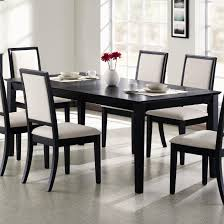 luxury black dining room table set 3 bench best gallery of tables furniture toronto and chairs round sets seats glass for cape town small surprising copy