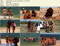 Russian teen nudist beach avi