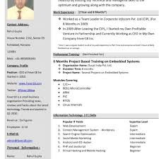 New Resume Template Current Templates Cv Format In Word Download