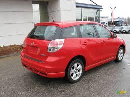 2005 Radiant Red Toyota Matrix XR AWD #6911807 Photo #7   GTCarLot ...