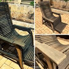 how to re teak garden furniture