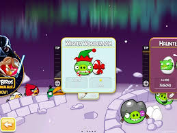 Angry Birds Seasons Winter Wonderham Update Now Available!