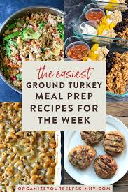 Easy low calorie baked ground turkey sriracha meatballs, easy, healthy family friendly favorite, 4 smartpoints. 10 Ground Turkey Recipes To Meal Prep This Weekend Organize Yourself Skinny