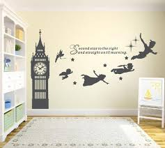 big ben clock wall decal peter pan wall