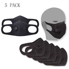 HANCYLILY Dust <b>Mask</b> 5 PCS Reusable <b>Adult</b>- Buy Online in ...