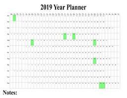 Amazon Uk Mp3 Chart 1 X 2019 Maxi Wall Calendar Poster Staff Holiday Chart Plan Wall Project Planner Organiser Uk Poster