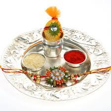 Image result for Rakhi thali images