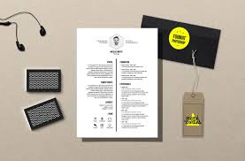 Cv White Resume Template Photoshop By Mémédanslesorties