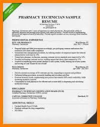 Objective For Pharmacy Resume Pharmacy Technician Resume Example Zaxa Tk