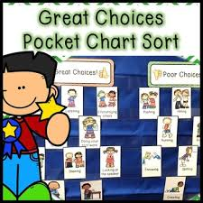 What Is Pocket Chart Behavior Pocket Chart Sort Classoom Rules Review