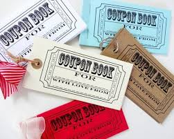 Diy Coupon Book Diy Coupon Book A Customized Gift Guide For Clever And Cozy