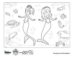 Small Picture Printable 10 Sofia the First Mermaid Coloring Pages 6492 Sofia