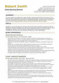 Casting Director Resume Client Services Director Resume Samples Qwikresume