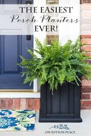 The Easiest Porch Planters Ever