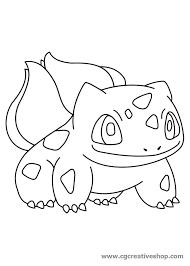 Bulbasaur Pokemon Disegno Da Colorare