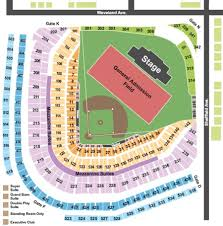 Wrigley Field Tickets And Wrigley Field Seating Charts
