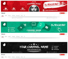 Youtube Channel Template 200 Best Youtube Banner Templates 2019