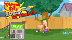 phineas and ferb games robot