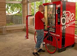 Vending Machine Repairs Delectable SelfServe Bike Repair Vending Machine Others