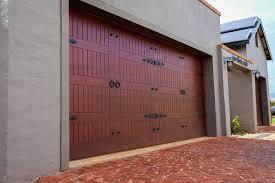 wood double garage door. Van Acht Garage Door Wood Double