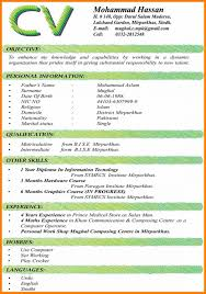 Cosy Latest Form Of Resume Pdf About Sample File Format For