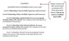 Apa Format Essays Subtitle Levels Apa Format Sample Paper Word