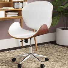 Mid century office chair Receptionist Quickview Wayfair Midcentury Modern Office Chairs Youll Love Wayfair