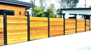 century diy modern horizontal wood fence glamorous fences mid privacy centu