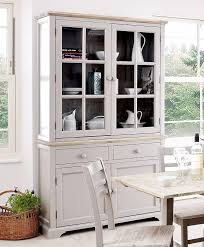 Florence Display Cabinet Large Truffle Kitchen Dining Dresser with glass  doors shelves and drawers FULLY ASSEMBLED Amazoncouk Kitchen u0026 Home